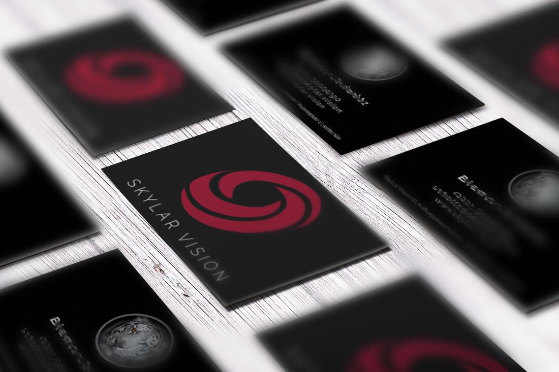 Visitenkarte Maße – Standard Format 85 x 55 mm